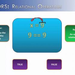 Relational Operators, Conditional logic